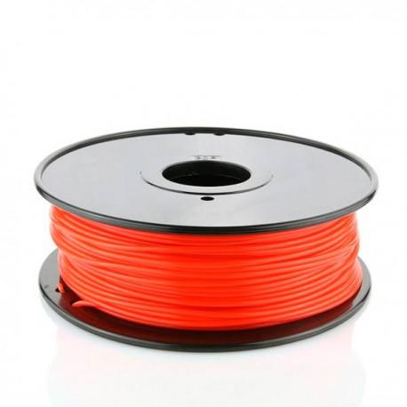 Filamento PLA Rojo fluorescente