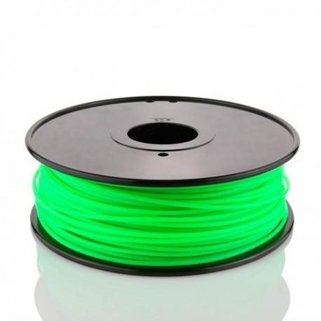 Filamento PLA Verde Fluorescente