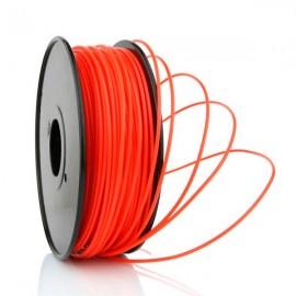 Filamento ABS Rojo Fluorescente